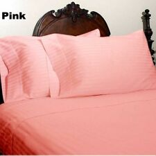 WHOLESALE PRICE HOTEL BRAND PINK COLOR 600TC COTTON COMPLETE UK BEDDING