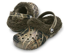 "Crocs Toddlers NEW ""Mammoth EVO"" REALTREE Camo Camouflage Fur Clogs Shoes SIZES"