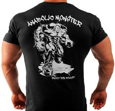 ANABOLIC MONSTER   BODYBUILDING T-SHIRT WORKOUT  GYM CLOTHING