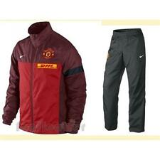 Nike Team Manchester United Sideline warm up 477781 Men's red anthracite soccer