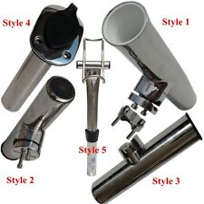 Kinds Of Stainless Steel Clamp On Boat  Fishing Rod Holder  Rod Bracket