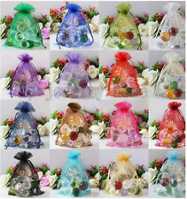 100PCS Sheer Organza Wedding Party Favor Decoration Gift Candy Pouch Bags U Pick