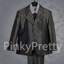 5 pcs Formal Suit Wear Wedding Page Boy Party Dinner Outfit Size 1-6 Years 017A