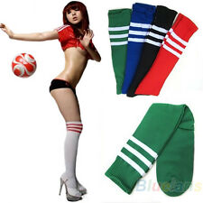 Hot Soccer Baseball Football Sport Over Knee Ankle Men Women Socks 8 Colors BB4U