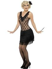 Adult Womens 1920's All That Jazz Flapper Smiffys Fancy Dress Costume
