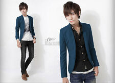 New Mens Casual Dress Slim Fit Stylish Suit Blazer Coats Jackets #wr