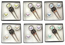 Pitch Repairer, Hat Clip and Butterfly Ball Marker Gift Set