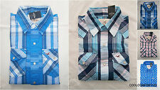 NWT Hollister Classic Pelican Point Twill Shirt Mens Muscle Fit By Abercrombie