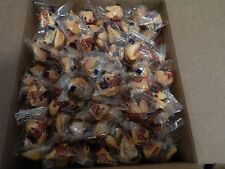 Fortune Cookies Individually Wrapped, Choice of 50,75,100,150,200,250,350pcs