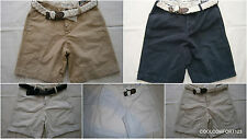 NWT Abercrombie & Fitch Boulder Brook Cargo Shorts With Braided Belt 31 32 36