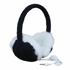 Knitted Music Audio Sound Ear Muffs Headphones 3.5mm iPhone iPod MP3 Ear Warmers