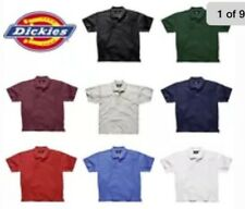 NEW Dickies KS5552 Short Sleeve Pique Polo Shirt-Adult Sizes ALL COLORS