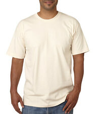 Bayside Short-Sleeve Cotton Tee Crew T-Shirt Men's 5040