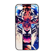 Cross Tiger Designer Hard Back Case Cover Skin for Apple iPhone 4 4S 5 5S