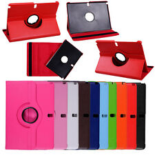 """360 Degree Rotation Leather Case Cover For Samsung Galaxy Note 10.1 """" 2014 P600"""