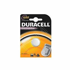 Duracell 1220 DL1220 CR1220 3V Lithium Coin Cell Battery