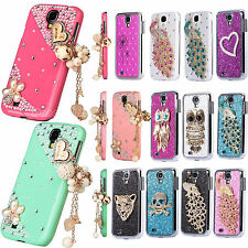 Diamond Bling Glitter Chrome Hard 3D Case Cover For Samsung Galaxy S4 IV i9500