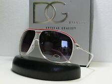 DG Mens Womens Trendy Fashion Aviator Sunglasses Designer+Microfiber Bag DG26691