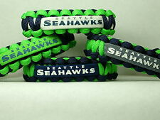 Seattle Seahawks NFL Survival 550 Paracord Bracelet ** NEW **