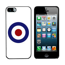 MOD Scooter 60's cover case for iPhone 5 C phone Hard or Gel protector RAF 5C