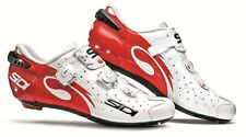 Sidi Wire Road Shoes Vernice &White-Red