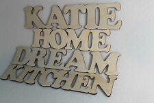Custom Wooden Letters Names Words Wall Decor Home YOUR NAME High 6 cm 2,5 inches