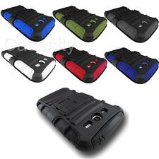 FOR SAMSUNG GALAXY GRAND DUOS i9082 RUGGED ARMOR CASE PHONE COVER W/ HOLSTER
