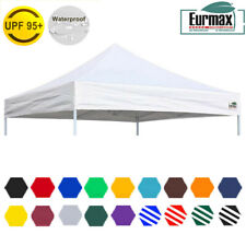 Eurmax 10x10 Replacement Canopy Top Fit EZ UP Patio Canopy CARAVAN Tent Shelter