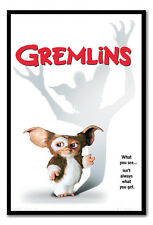 Framed Gremlins One Sheet Poster Ready To Hang - Choice Of Frame Colours