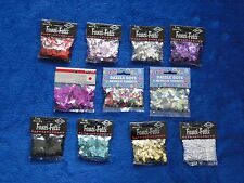NEW PAPERART, BEISTLE & AMSCAN DOT SHAPED CONFETTI IN VARIOUS COLORS 1 OZ PACK