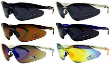 X-Loop Sun Glasses Sport Wrap Around Baseball Cycling Golf Xloop NEW Sunglasses
