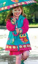 Stephen Joseph Kids Toddler Girls Rain Coat Slicker Jacket Wear Gear Cute New