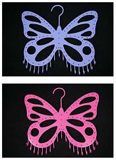 Butterfly Hook Jewelry Holder Earrings Necklace Ring Ornament Display