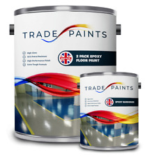 Two Pack Epoxy Concrete Garage Warehouse Floor Paint With Non Slip Option