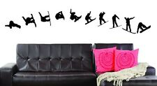 Snowboarding large Mural vinyl wall decal sticker decoration US seller