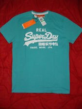 SUPERDRY Paraffin Blue REAL Superdry Mens Extra Extra Large ( XXL ) 2XL T-Shirt