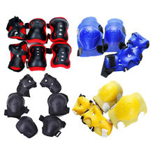 Kid Cycling Roller Ski Skating Knee/Elbow/Wrist Guard Protective Gear Pad 5Color