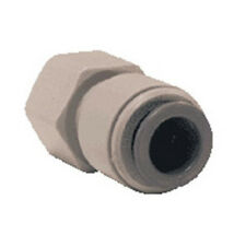 "1/4"" Female Compression (7/16"" BSP 24-UNS) x John Guest Tube Sink Faucet Fitting"