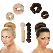 Hot Sale Womens Fashion 2pcs Different Sizes Elegant Magic Buns Hair Accessories
