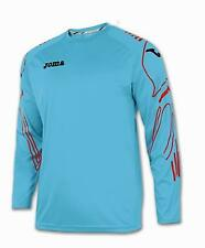 JOMA REINA III GOALKEEPER SHIRT ADULTS TURQUOISE BLUE/CORAL LARGE  BNWT