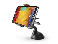 New Black Dashboard Windshield Suction Cup Car Mount Holder + Clamp for Phones