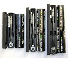 Heavy Duty Professional Torque Wrench Pittsburgh Pro 1/2 in., 1/4 in. and 3/8 in