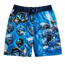 SKYLANDERS SWAP FORCE UV-50 Bathing Suit Swim Trunks NWT Boys Size 4, 5 or 6 $25