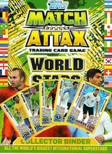 Match Attax World Stars 2014 Individual Base Cards Numbers 138-208