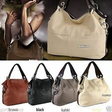 Woman Ladies Fashion Leather Handbag Tote Shoulder Bag Perfect Gift