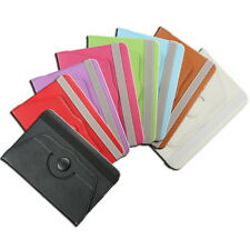 "9.7"" inch 360°Rotating Folio PU Leather Case Cover Skin Stand for Tablet Android"