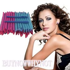 40CM Long & Narrow Curl Formers Magic Leverage Spiral Hair Curler Curls Rollers