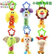 baby toy rattle animal cattle shake bell my first tinkle trio bed hang gift 1pc
