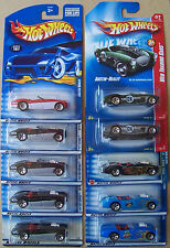 2000 2001 2003 2008 Hot Wheels Austin Healey Choice Lot All Different