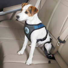 DOG IS GOOD CAR HARNESS SAFETY SEATBELT 4 sizes w/ D ring for lead attachment